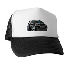 Mitsubishi Evo Black Car Trucker Hat