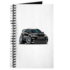Mitsubishi Evo Black Car Journal