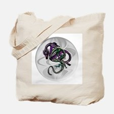 Fighting Dragons Tote Bag
