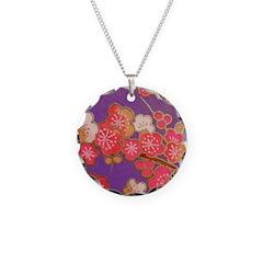 Japanese sakura Necklace
