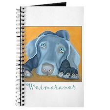 Weimaraner Art Journal