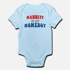 Hannity Is My Homeboy Infant Creeper
