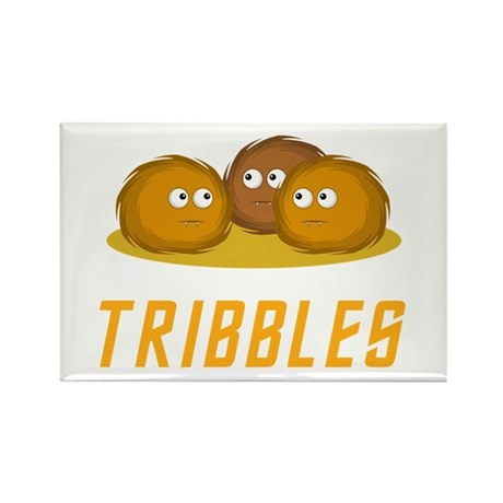 Tribbles Rectangle Magnet