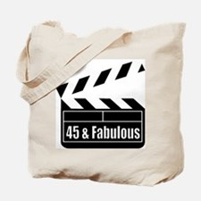 HAPPY 45TH BIRTHDAY Tote Bag