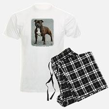 Staffordshire Bull Terrier 9F23-12 Pajamas