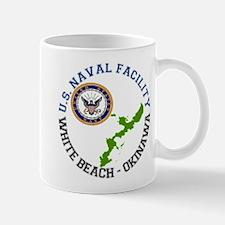NAVFAC White Beach Mug