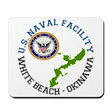 NAVFAC White Beach Mousepad