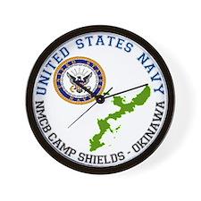 NMCB Cp. Shields Wall Clock