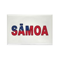 Samoa (Samoan) Rectangle Magnet