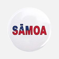 """Samoa (Samoan) 3.5"""" Button"""