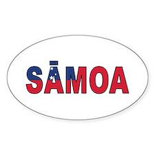 Samoa (Samoan) Decal