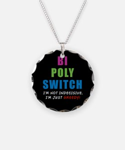 Bi Poly Switch Not Indecisive Necklace