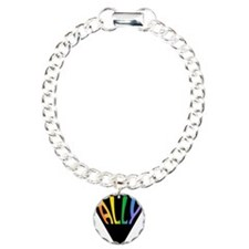 Gay Ally Rainbow Triangle Bracelet