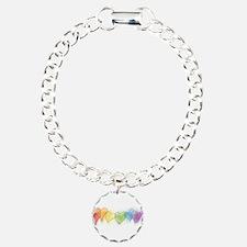 Rainbow Hearts Bracelet