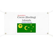 Cute Isle palms Banner