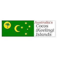 Unique Cocos islands Bumper Sticker