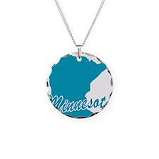 State Minnesota Necklace