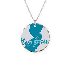State New Jersey Necklace
