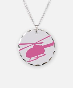 Pink Helicopter Necklace