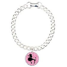Poodle in Pink Bracelet
