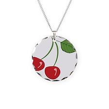 Retro Cherry Necklace