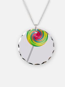 Swirly Lollipop Necklace