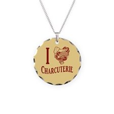I Love Charcuterie Necklace
