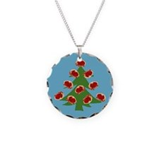 Meat Christmas Tree Necklace