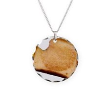 Plain Grilled Cheese Sandwich Necklace
