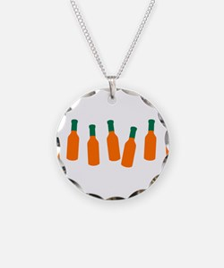 Bottles of Hot Sauce Necklace