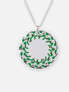 High Heel Shoe Wreath Necklace