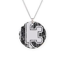 Retro 13 Number Necklace
