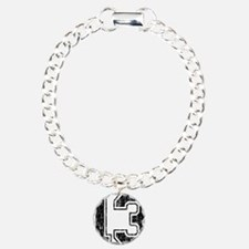 Retro 13 Number Bracelet