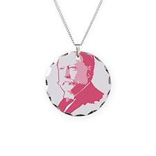 Pink President Taft Necklace