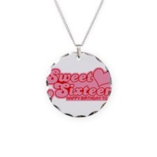 Sweet Sixteen Birthday Retro Necklace