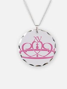 Quince Anos XV Tiara Necklace