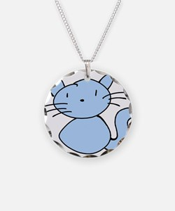 Boo Kitty Necklace