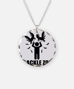Grackle Zone Warning Necklace