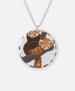 Red Pandas Necklace