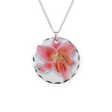 Stargazer Lily Necklace