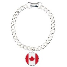 Canadian Flag Bracelet