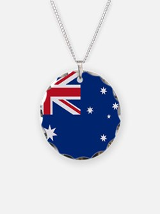 Australia Flag Necklace