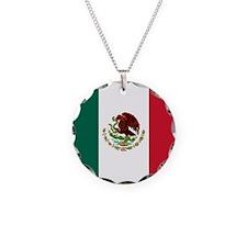 Mexico Flag Necklace