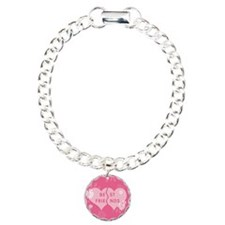 Best Friends Pink Double Hear Bracelet
