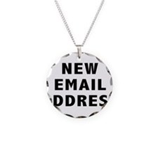 New Email Address Necklace