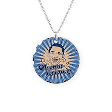 Retro Obamalicious Necklace