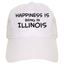 Happiness is Illinois Baseball Cap