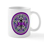 Purple-Teal Goddess Pentacle Mug