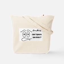 BUNNY FACE Tote Bag