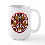 Red Goddess Pentacle Large Mug